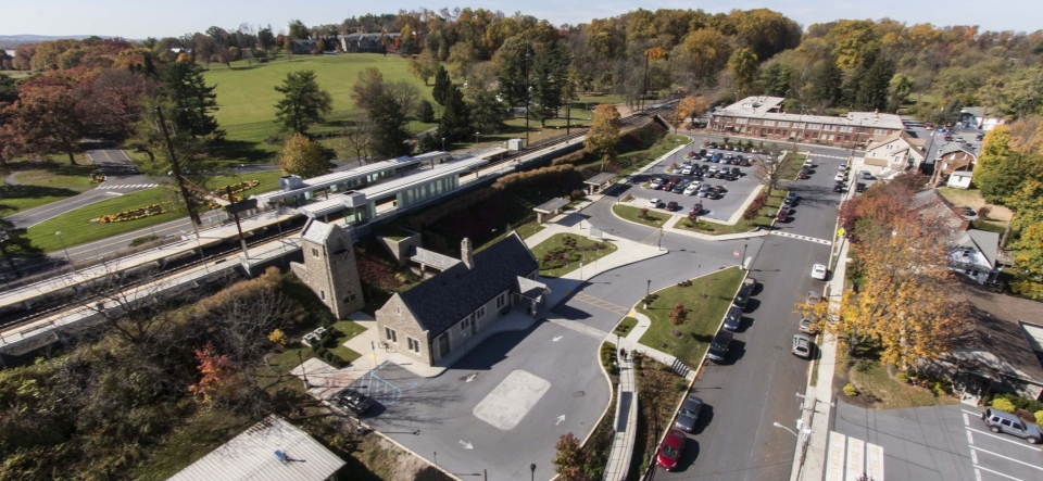 Elizabethtown Train Station - Overflow Parking & Improvements