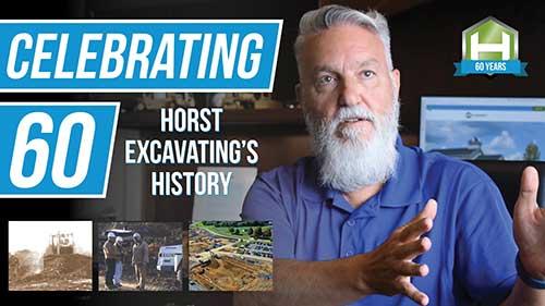 horst excavating 60 anniversary
